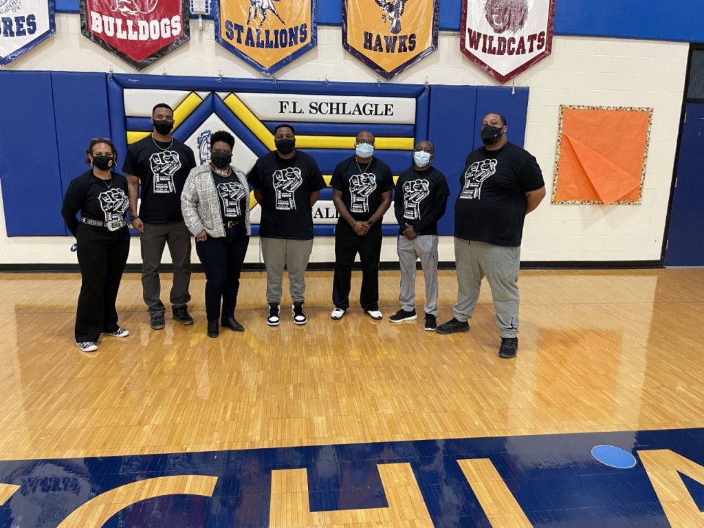 culmination of BlackPrincipal with AD and coaching staff